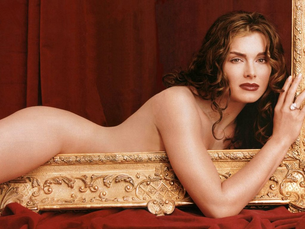 Brooke Burke en su desnudo