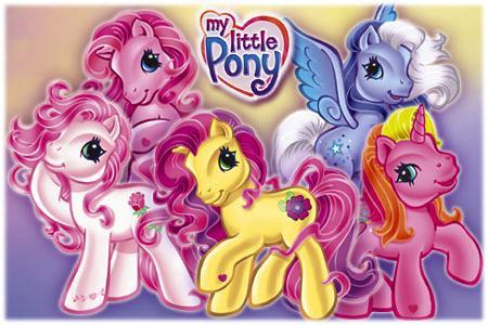 Clásicos de la animación mi pequeño pony