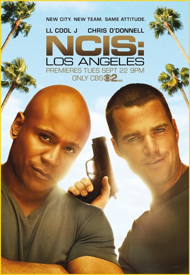 NCIS LOS ANGELES POSTER GRANDE