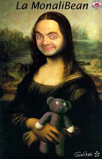 Mr.Bean al photoshop!